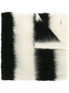 полосатый трикотажный шарф Dondup