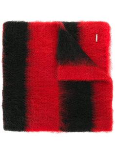 полосатый объемный шарф Dondup