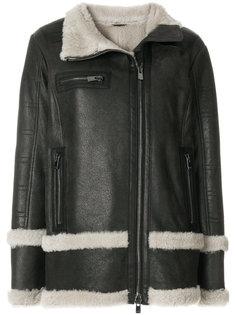 oversized fur-lined coat Drome