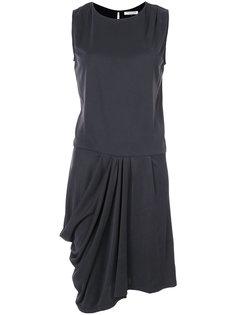 draped style dress Halston Heritage