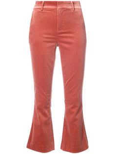 укороченные классические брюки Frame Denim