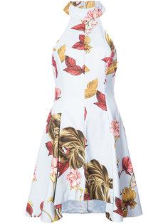 платье с цветочной вышивкой C/Meo