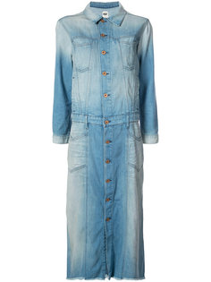 stonewashed denim shirt dress NSF