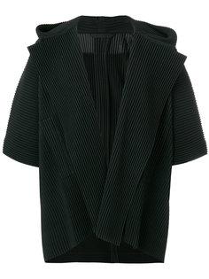 куртка в рубчик Homme Plissé Issey Miyake