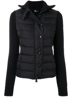 дутая куртка на пуговицах  Moncler Grenoble