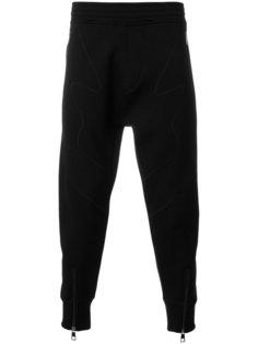 укороченные спортивные брюки с зигзагами Neil Barrett