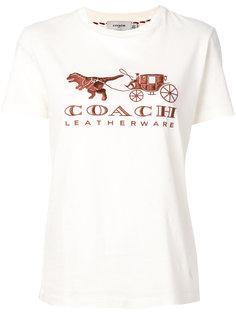 футболка с логотипом Coach