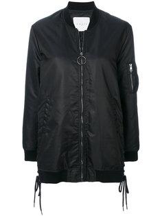 куртка-бомбер со шнуровкой  Gaelle Bonheur
