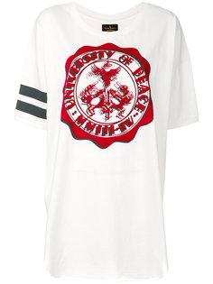 свободная футболка с принтом  Vivienne Westwood Red Label