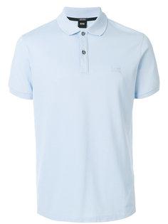 футболка-поло с короткими рукавами Boss Hugo Boss