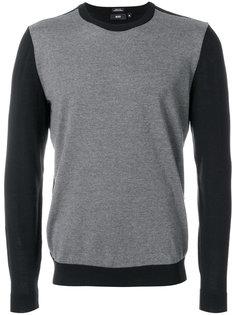 свитер дизайна колор-блок Boss Hugo Boss