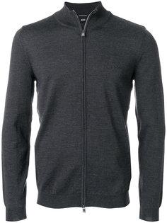 свитер на молнии Boss Hugo Boss