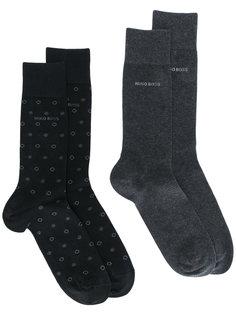 две пары носков Boss Hugo Boss