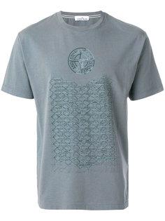 футболка с графическим принтом Stone Island