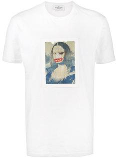 футболка Mona Lisa Jean-Michel Basquiat X Browns