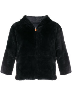 фактурная куртка с укороченными рукавами  Save The Duck