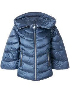дутая куртка с укороченными рукавами  Save The Duck