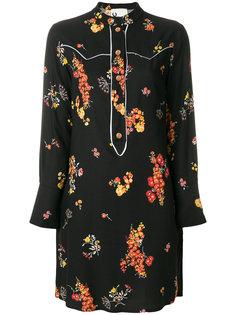 платье-рубашка с цветочным принтом  8pm