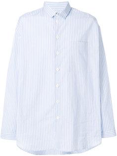 классическая полосатая рубашка Sunnei