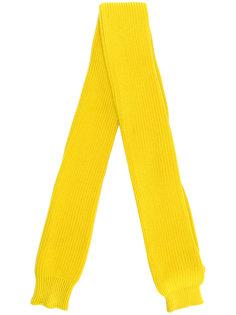 классический трикотажный шарф Sunnei