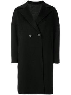 пальто-кокон на пуговицах  Les Copains