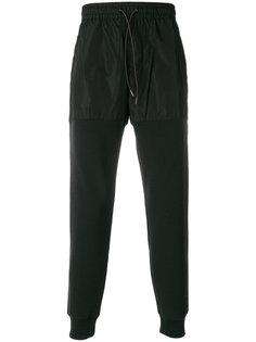 спортивные брюки с эластичным поясом Burberry