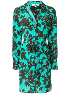 платье-рубашка с цветочным принтом  Dvf Diane Von Furstenberg
