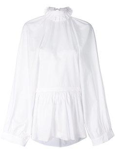 блузка с высоким воротом  Ann Demeulemeester