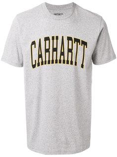 футболка с принтом-логотипом Carhartt