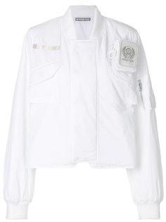 укороченная куртка-бомбер  Hyein Seo