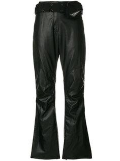 укороченные брюки с поясом в стиле милитари Hyein Seo