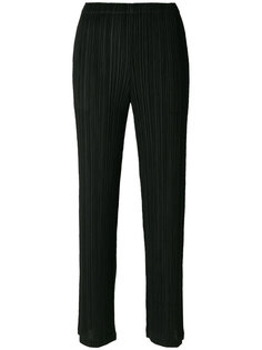 pleated high waisted trousers Pleats Please By Issey Miyake