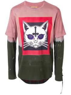 футболка с принтом кота Sold Out Frvr