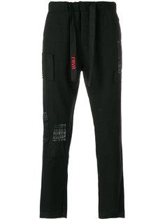 спортивные брюки с заплаткой Sold Out Frvr