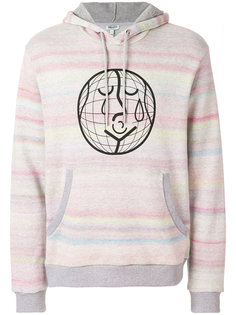 stripe print hoodie Kenzo
