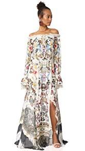 Camilla Raise Your Glass Split Shoulder Dress