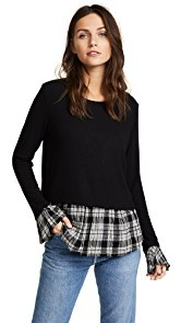 Generation Love Noa Plaid Top