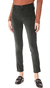 James Jeans Velveteen Skinny High Rise Legging Jeans