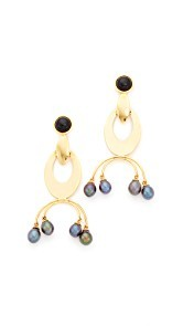 Lizzie Fortunato Gazelle Earrings