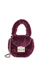 Salar Mimi Mini Teddy Cross Body Bag