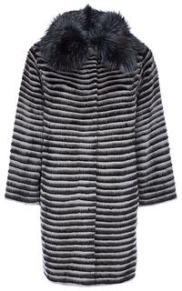 Комбинированный жакет из меха норки, енота и кролика Virtuale Fur Collection