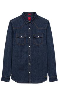 Джинсовая рубашка S.Oliver Casual Man