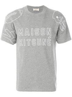 logo print T-shirt Maison Kitsuné