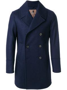 двубортное пальто Sealup