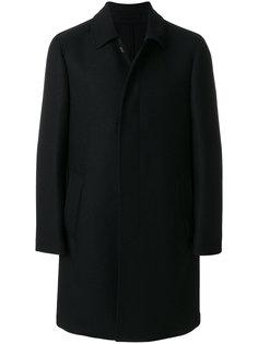 классическое однобортное пальто Lardini