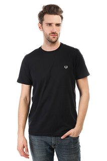 Футболка Fred Perry Crew Neck Black