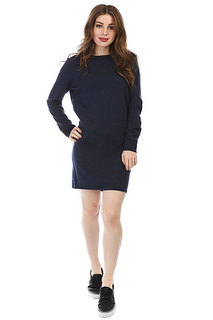 Платье женское Roxy Winter Story Dress Blues Heather