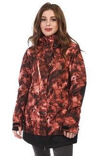 Куртка утепленная женская DC Riji Burnt Henna Tie Dye