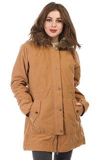 Куртка парка женская Roxy Mountain Song Tobacco Brown