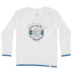 Лонгслив детский Quiksilver Lsclteboyoffici K White